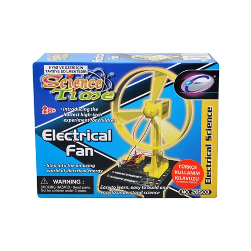 Elektrikli Fan Bilim Zamanı Seti