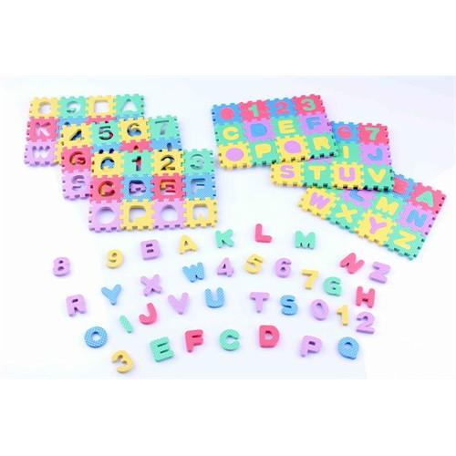 Alphabetic & Numeric Eva Puzzle Mat