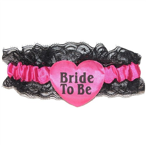 Pandoli Pembe Renkli Bride To Be Bacak Bandı