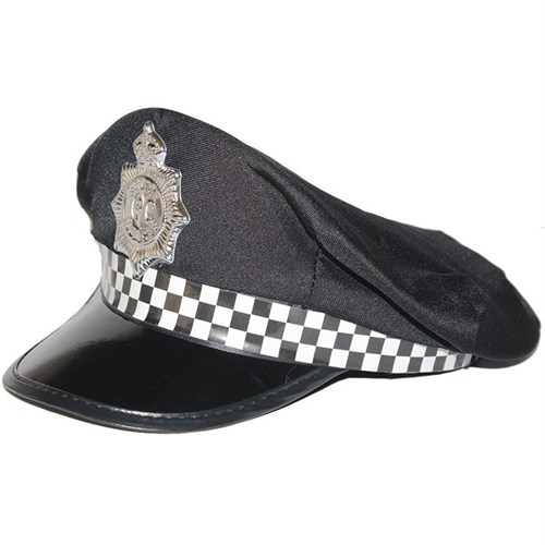 Pandoli Siyah Renk Polis Şapkası