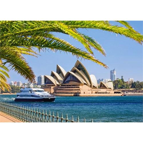 Castorland 1000 Parça Sidney Opera Evi Puzzle (Avusturalya)