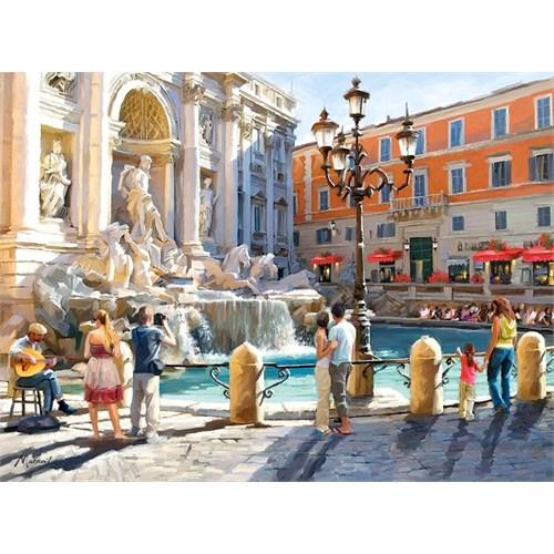 Castorland 3000 Parça Trevi Çeşmesi (İtalya) Puzzle