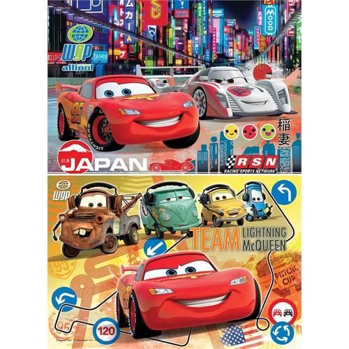 Clementoni 24741 - 2 X 20 Parça Disney Cars Puzzle