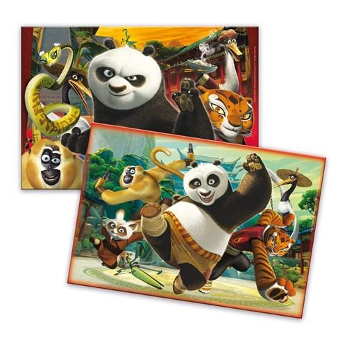 Clementoni 2 X 20 Parça Kung Fu Panda Çocuk Puzzle