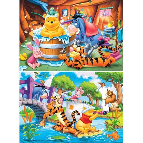 Clementoni Winnie The Pooh 2X20 Parça Çocuk Puzzle