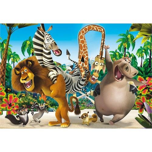 Madagascar Çocuk Puzzle - 24 Parça Maxi - Clementoni 24043