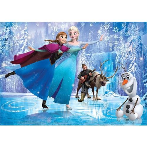 Clementoni 24474 - 24 Parça Frozen Maxi Puzzle (Ice Running)