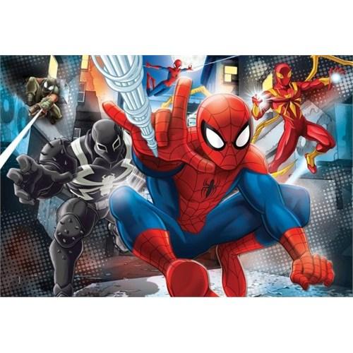 104 Parça Spider-Man Web Warriors Çocuk Puzzle (Clementoni 27958)