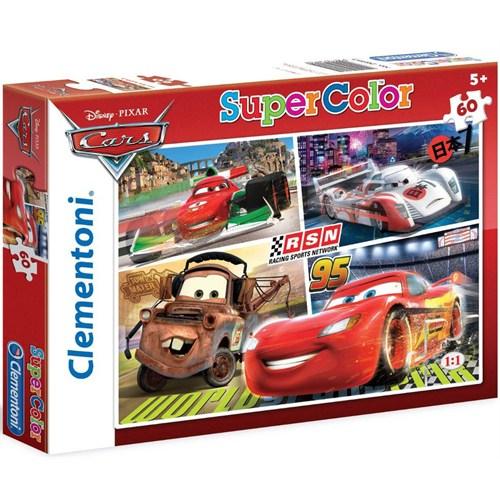 Clementoni 60 Parça Cars Supercolor Puzzle