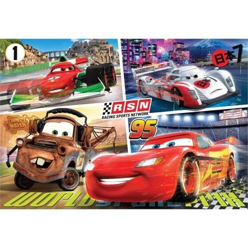 Clementoni 250 Parça Puzzle (Disney Cars)