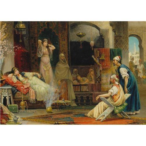 Ravensburger Haremde (1000 Parça Osmanlı Klasikleri)