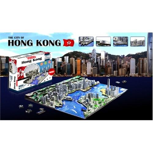 4D Cityscape Hong Kong Puzzle