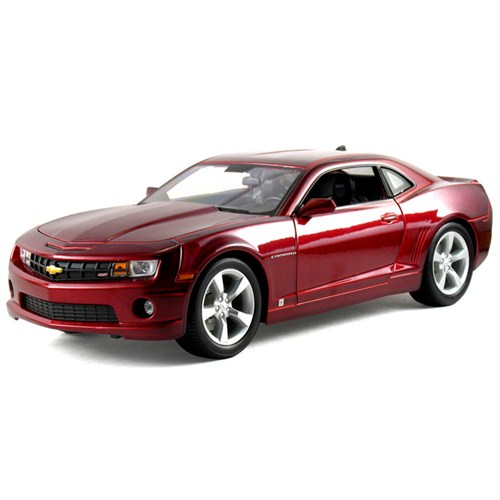 Maisto 2010 Chevrolet Camaro Rs Diecast Model Araba 1:24 Special Edition Bordo