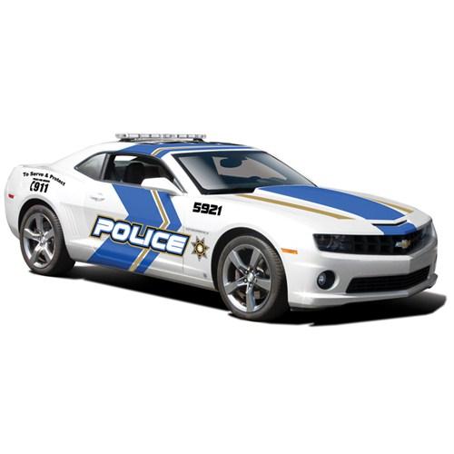 Maisto Chevrolet Camaro Rs 2010 Police Model Araba 1:24 Special Edition Beyaz