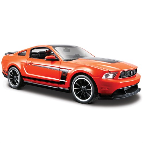 Maisto Ford Mustang Boss 302 1:24 Model Araba Turuncu