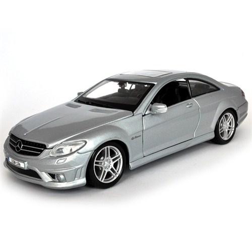 Maisto Mercedes Benz Cl63 Amg Diecast Model Araba 1:24 Gri