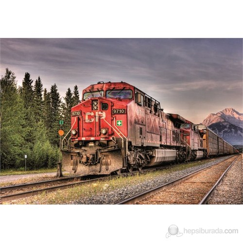 Educa 1500 Parça Puzzle Canadian Pacisific Train Entering Banff
