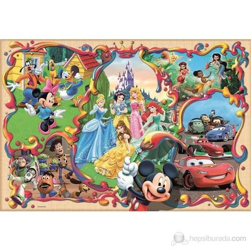 Educa 1000 Parça Puzzle Disney's World