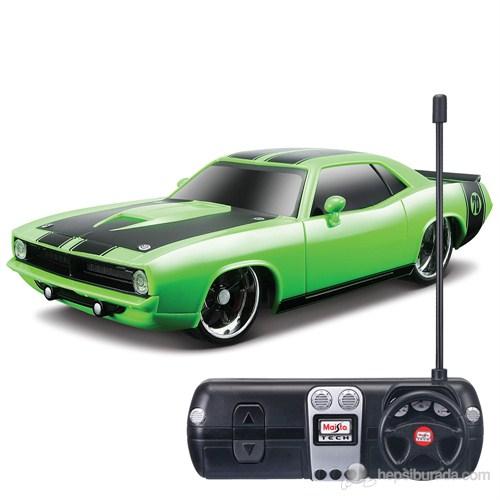 1970 Plymouth Hemi Cuda1:24 Tech Yeşil