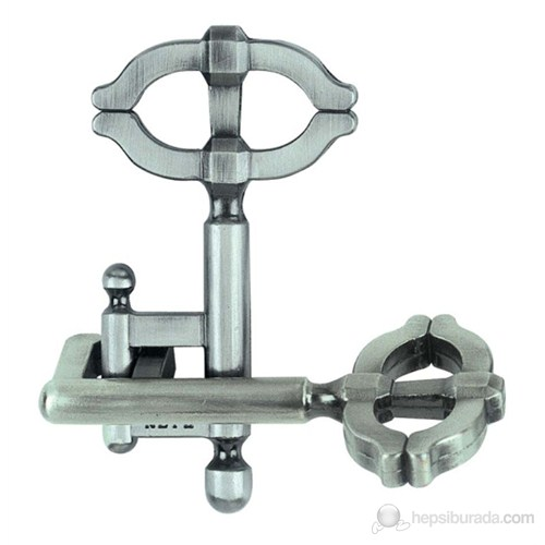 Eureka 3 Boyutlu Döküm Anahtar Puzzle Cast Key Iı **