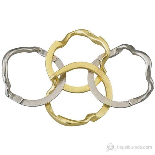 Cast Eureka Yüzükleri Birleştirin Ring ****