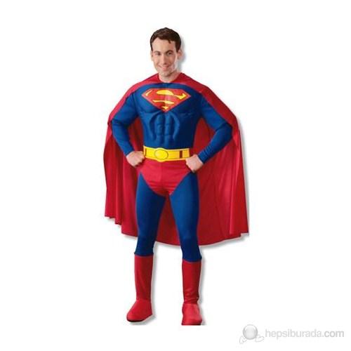 Superman Yetişkin Kostüm Small
