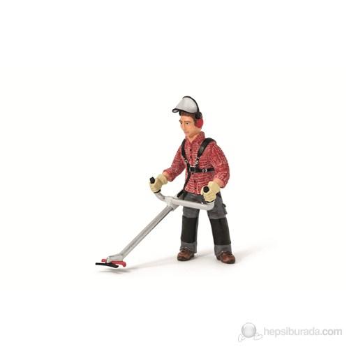 Schleich Çim Kesen İşçi 13458
