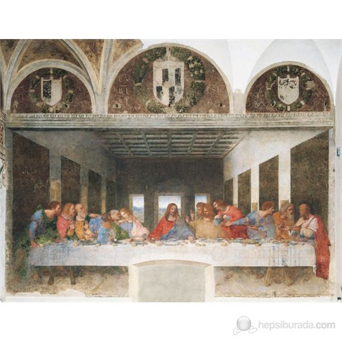 The Last Supper, Leonardo (2000 parça)