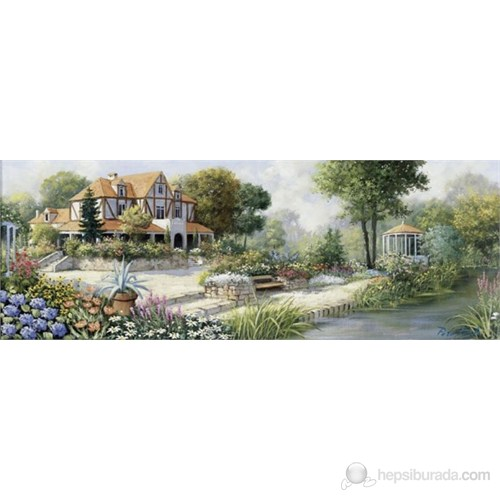 Art Puzzle 1000 Parça Panaroma English Cottage