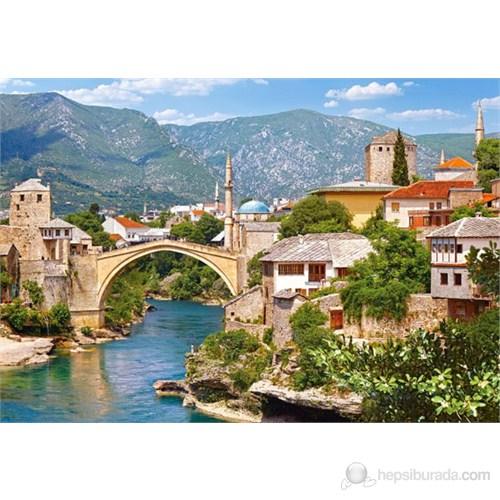 Castorland 1000 Parça Puzzle Mostar, Bosnia And Herzegovina
