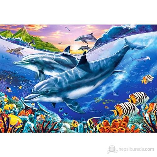 Castorland 3000 Parça Puzzle Dolphin Lagoon