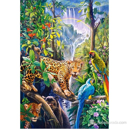 Castorland 1500 Parça Puzzle Rainbow Paradise