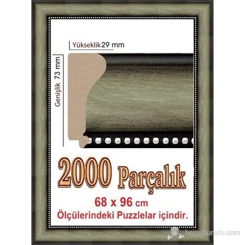 Heidi Polistiren Puzzle Çerçevesi 2000 Parça İçin 96 X 68 Cm