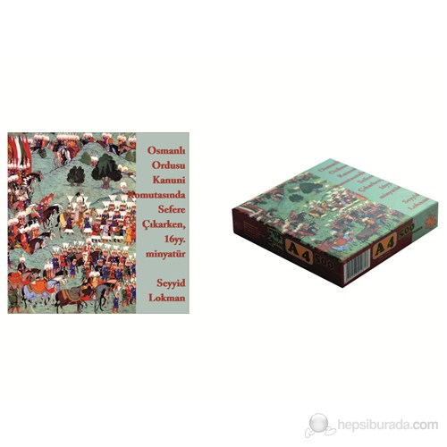 Osmanlı Ordusu 500'lük Puzzle