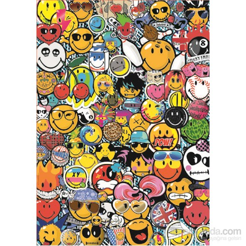 Educa 1000 Parça Smiley World Puzzle