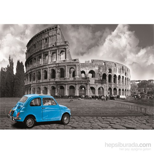 Educa 1000 Parça Minyatür Coliseum Rome Puzzle
