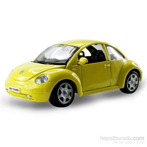 Maisto Volkswagen New Beetle Model Araba 1:24 Special Edition Sarı