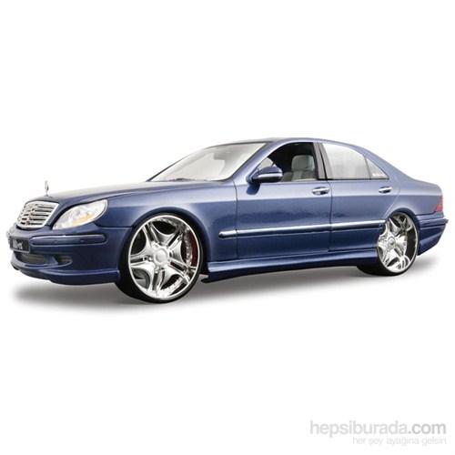 Maisto Mercedes-Benz S55 Amg Model Araba 1:18 S/E Lacivert