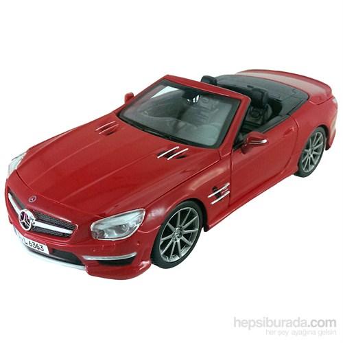 Maisto Mercedes-Benz Sl 63 Amg Model Araba 1:24 S/E Kırmızı
