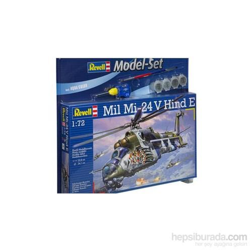 Revell M. Set Mil Mi-24V Hind E