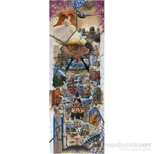 Art Puzzle 1000 Parça Panorama Puzzle Bir İstanbul Masalı