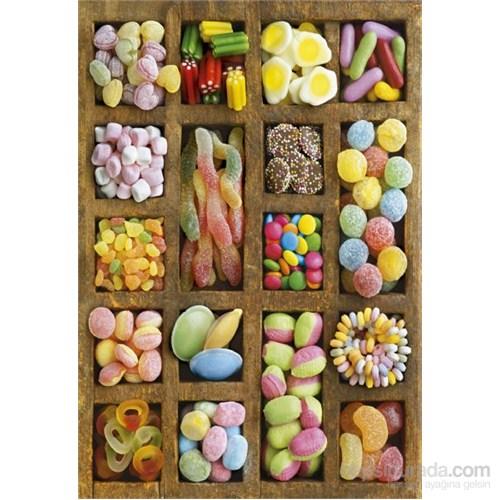 Educa 500 Parça Şeker Çeşitleri Puzzle Sweet Cottage
