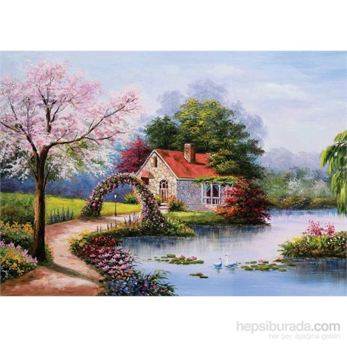 Ks Games Puzzle 1000 Parça Lake House Jack Stansfield