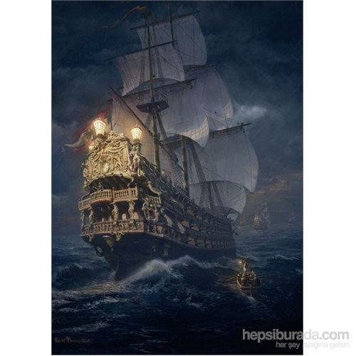Schmidt Puzzle 1000 Parça On The High Seas Puzzle