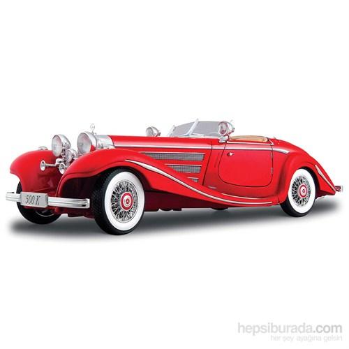 Maisto Mercedes - Benz 500K Type 1:18 P/E Kırmızı