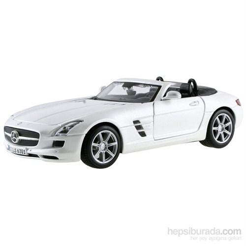 Maisto Mercedes-Benz Sls Amg Roadster S/E 1:24 Beyaz