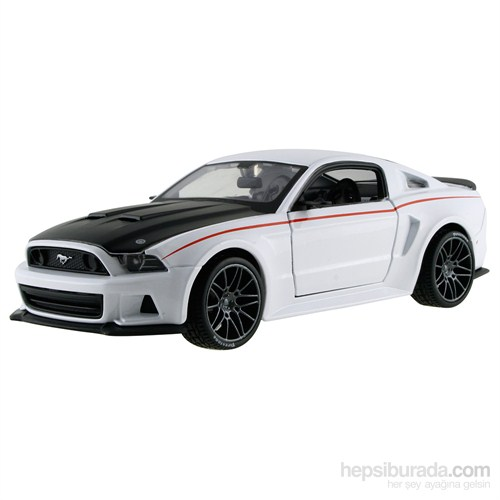 Maisto 2014 Ford Mustang Street Racer S/E 1:24 Beyaz