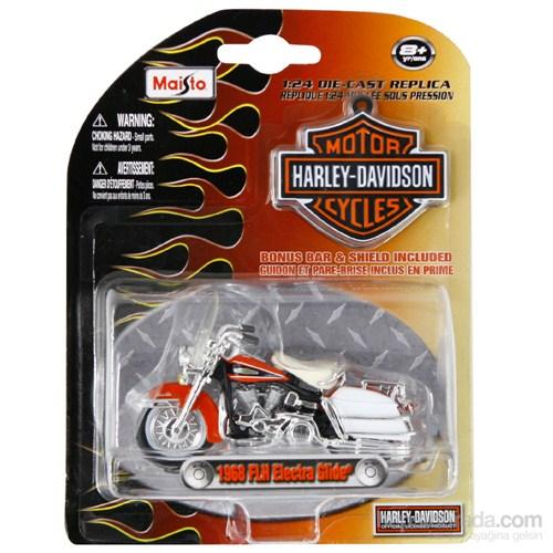Maisto H.Davidson 1968 Flh Electra Glide Model Motorsiklet 1:24