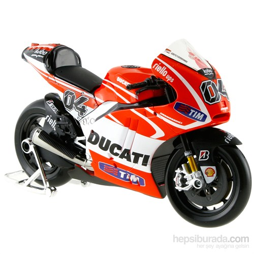 Maisto 2013 Ducati Gp Racing Model Motor 1:10