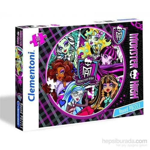 Monster High (500 Parça, Yuvarlak)